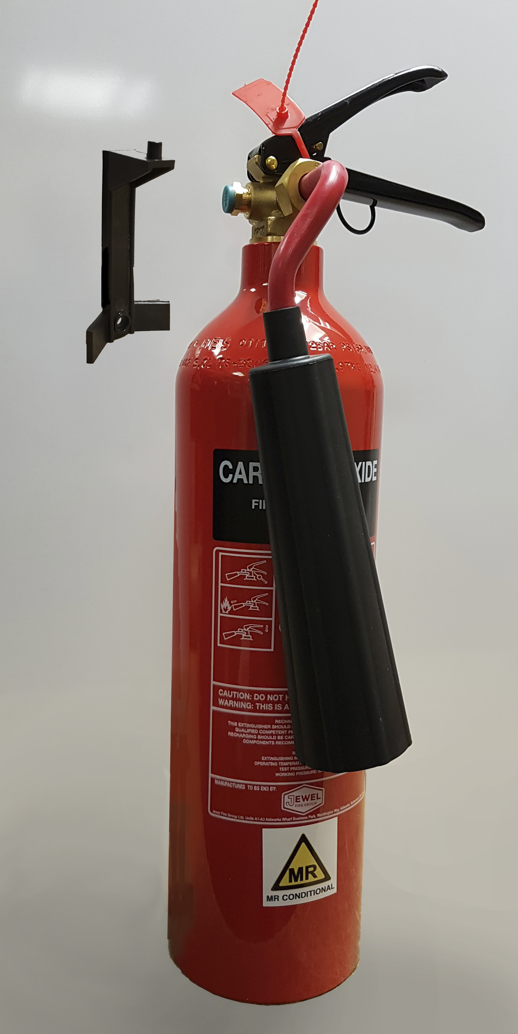Picture 2 of CO² Filled Fire Extinguisher
