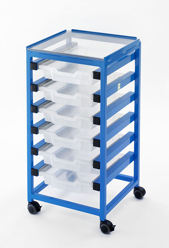 Picture 1 of Utility Trolley (6 Drawers)