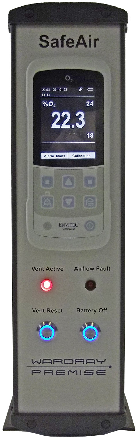 Picture 1 of SafeAir ® Room Oxygen Monitor