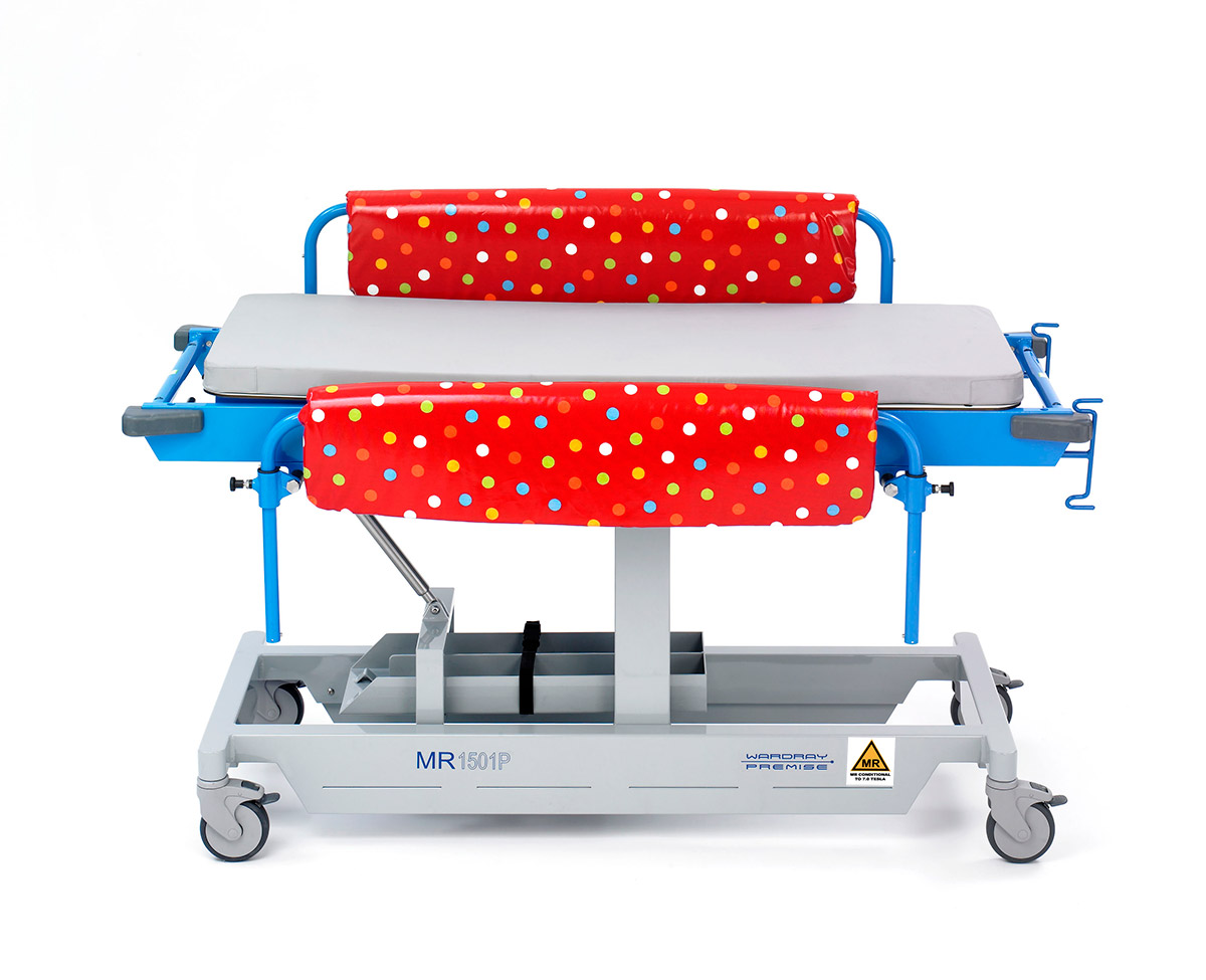 Picture 2 of Fixed Height Paediatric Trolley