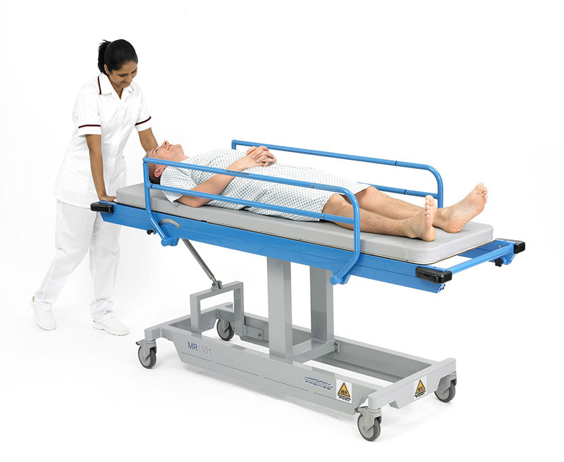 Picture 1 of Fixed Height Patient Trolley