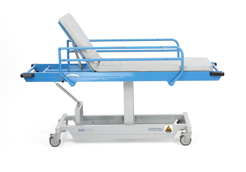 Picture 3 of Fixed Height Patient Trolley