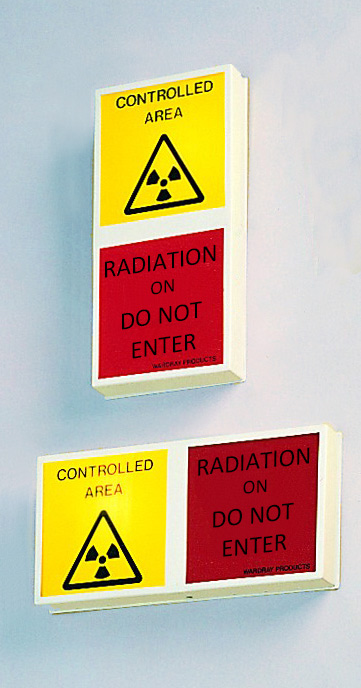 Picture 2 of Wall Mounted X-ray Warning Light