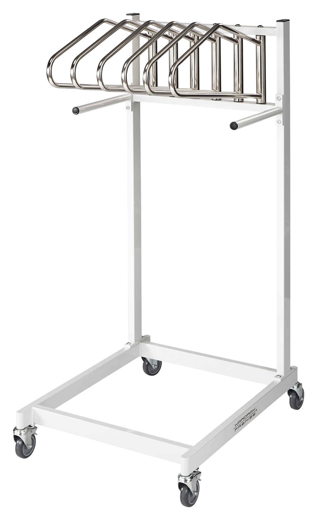 Picture 1 of Mobile Apron Storage - 6 Hangers
