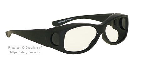 Picture 1 of Fit-Over Radiation Glasses