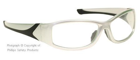 Picture 1 of Radiation Glasses - Wrap Silver Frames