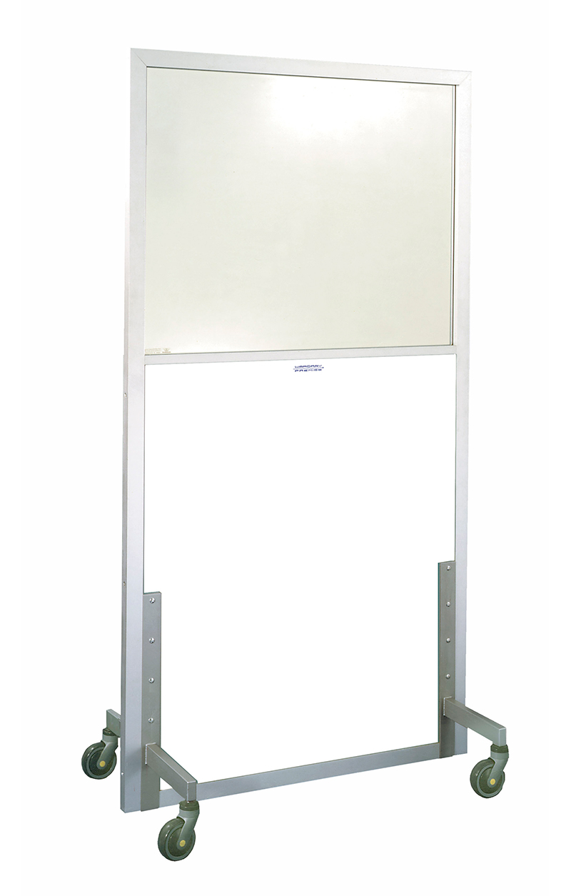 Picture 1 of Panoramic Mobile Screen 2000mm x 1250mm - 1.5mm Pb