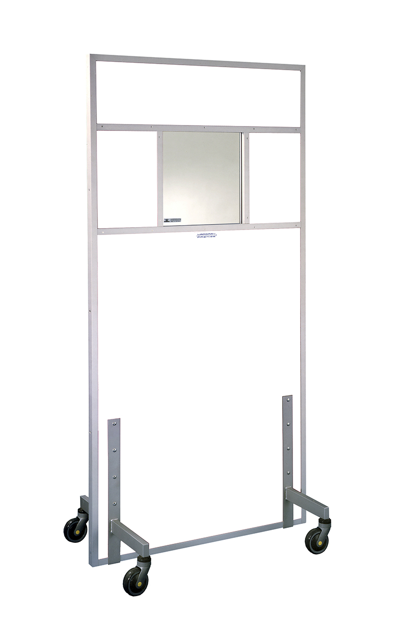 Picture 1 of Standard Mobile Screen 2000mm x 1000mm wide - 2.0mm Pb
